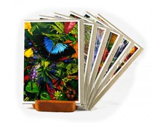 customised handmade art cards