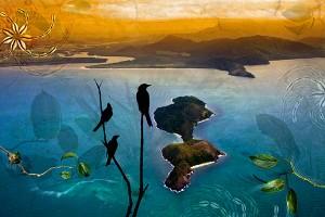 nf323b. Snapper Island artcard