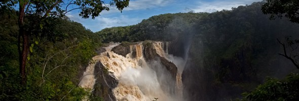 Barron Falls…wet season in the tropics