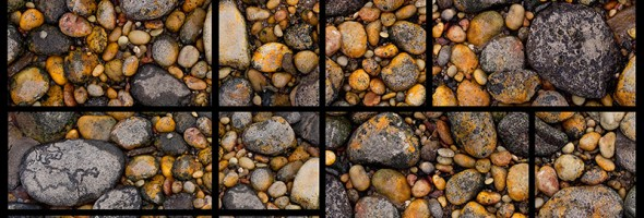 Pebbly Beach…rock outside the square