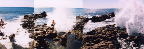 Shell beach…Self Portrait (unfinished)…wipeout