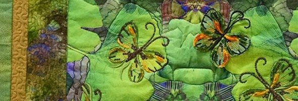Butterfly Quilt wins first prize…by Di Turner