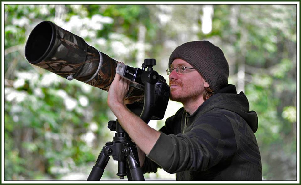 photographing birds with a monster lens