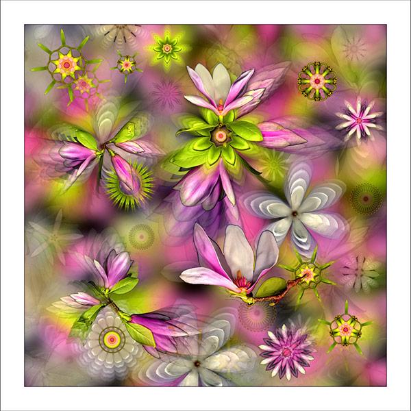 fp76. Magnolia Sky Fabric Patch