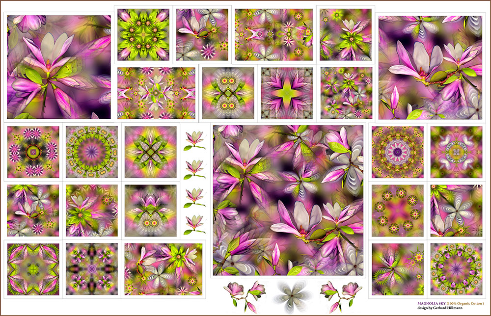 Magnolia Sky Fabric Set (26 designs)